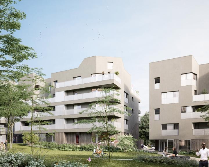 appartements et maisons accession abordable PSLA Rezé